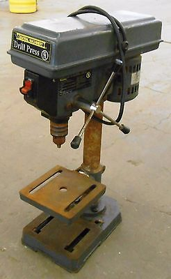 """Central Machinery 813B 8"""" 5 Speed Bench Drill Press, 1/2 Hp"""