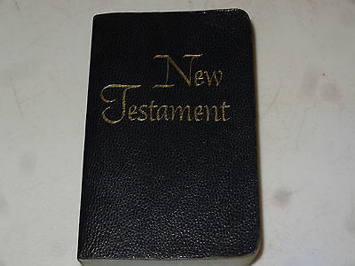 American Bible Society New Testament Pocket Edition Holy Bible KJV Topical Index