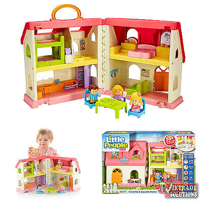 Little People Surprise Sounds Home Doll House Kids Toy Figures Girls Gift Play