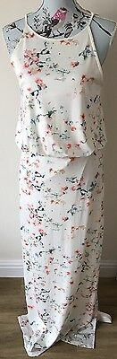 Ladies Maxi Dress Floral Size Medium 10-12