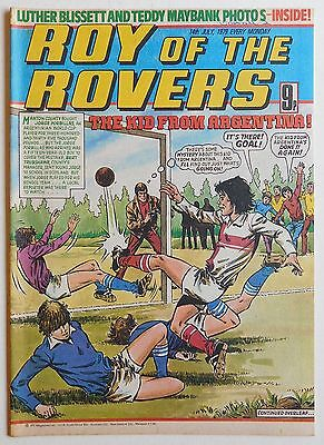 ROY OF THE ROVERS Comic - 14th July 1979
