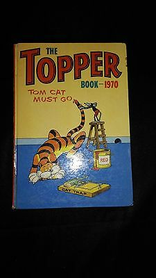 The Topper 1970 Vintage Annual Comic Hardback Book