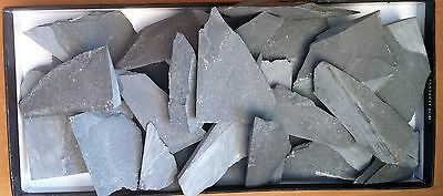 Guangxi slurry stone 12000 grit . Broken off pieces. Size and shape vary.