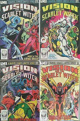 Vision & the Scarlet Witch #1-4 (first Marvel mini-series, 1982-1983)