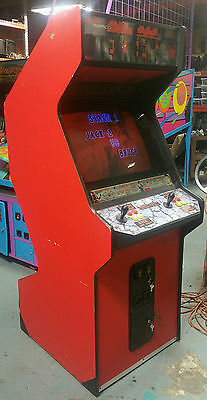 Tekken 2 Full Size Fighting Arcade Game! Works Great! Come and get it! Red #2