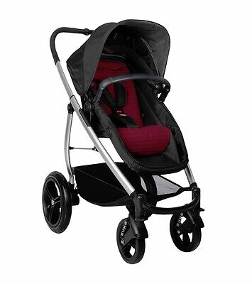 Phil & Teds Smart Lux Buggy Stroller - Ruby / Taupe Brand New In Box
