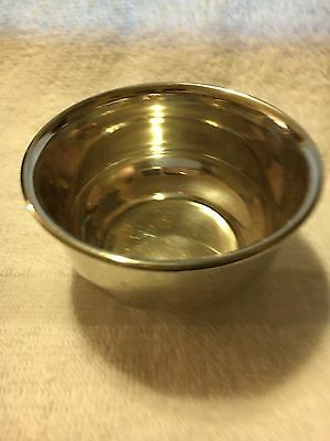 Plain Rolled Rim Sauce Bowl By Birks Sterling.