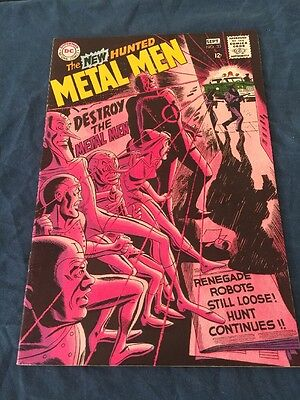 METAL MEN # 33 - DC 1968 (fn)