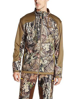 Yukon Gear Men's Technical Fleece Midlayer Jacket Hunting Hiking Camping Fishing