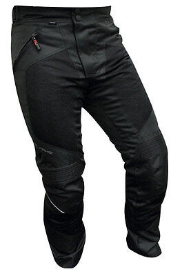 RJAYS All Season II MOTORCYCLE ROAD BIKE TEXTILE Pants BLACK CE Approved