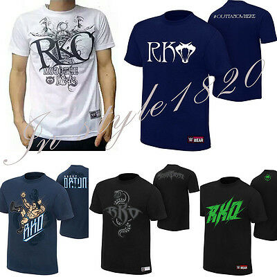 T-shirt Top Tee shirt Kids Boys Mens for Randy Orton Viper RKO WWE JOHN Wrestle