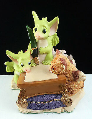 """Pocket Dragons """"Looking for the Right Words"""" by Real Musgrave 1996/1997 SIGNED"""