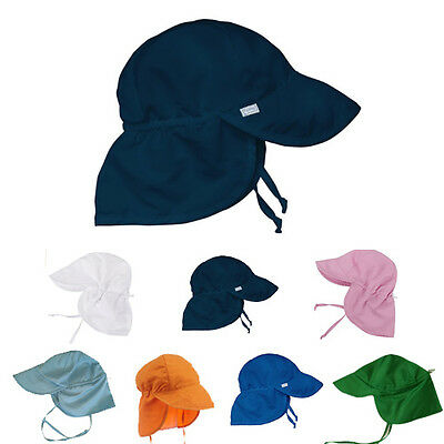 UPF50+ Classic Junior legionnaire Baseball Cap for Children Kids Sun 100% Cotton