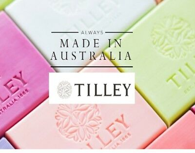 TILLEY SOAP BULK BUY - 40 x 100GM PURE VEGETABLE SOAPS (10 x 4 FRAGRANCES)