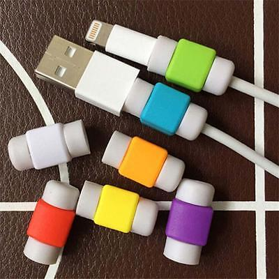 10PCS Protector Saver Cover For Apple iPhone 7 iPad Lightning USB Charger Cable