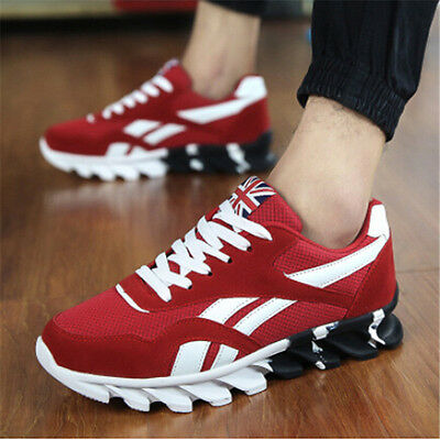 Men's Running Shoes Breathable Outdoor Sports Sneakers  Athletic Shoes Adult