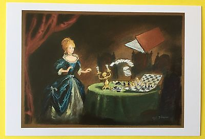 BEAUTY AND THE BEAST Concept Art POSTCARD Chess DISNEY New BELLE 022