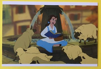 BEAUTY AND THE BEAST Film Frame POSTCARD Belle DISNEY New SHEEP Art 010