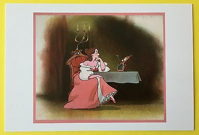 BEAUTY AND THE BEAST Concept Art POSTCARD Belle DISNEY New COGSWORTH 008