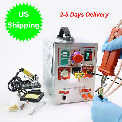 Canada Pulse Spot Welder Weld 709A Battery Welding Machine with Charger 110V 60A