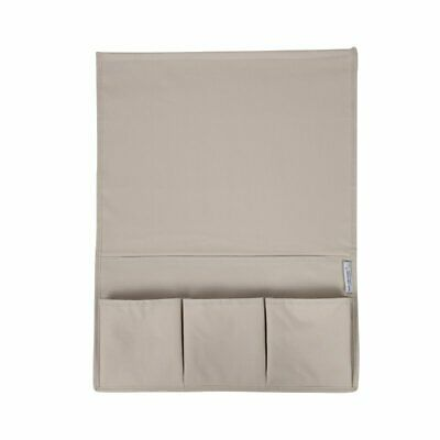 South Shore Storit Canvas Bedside Storage Caddy in Beige