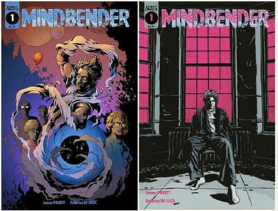 Mindbender #1 - Cover A & B Variant - Scout Comics (NM+) SOLD OUT! 2 book lot