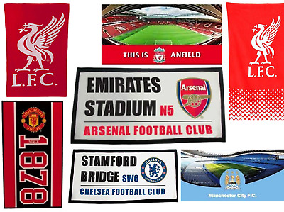 Official Football Club Towels Bath Gym  Man United, Man City & Liverpool
