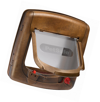 PetSafe Staywell Deluxe Magnetic Cat Flap, Woodgrain