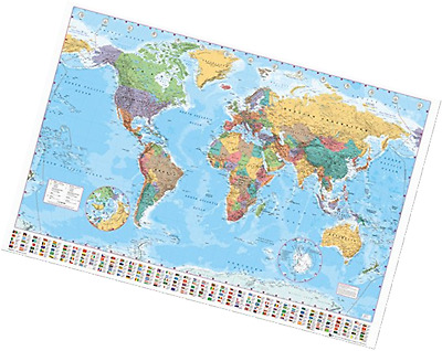 Gb eye world map 2015 maxi poster multi colour 61 x 915 cm gb eye world map 2015 maxi poster multi colour 61 gumiabroncs Gallery