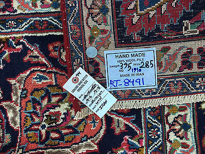 10x13 HAND KNOTTED WOVEN RUG PERSIAN MADE IRAN WOOL 10 x 13 antique rugs 9 12 14