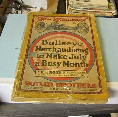 Original 1918 Butler Brothers New York Department Store Catalog 1600 Indexed