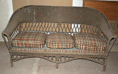 Wicker Couch - Sofas & Chaises