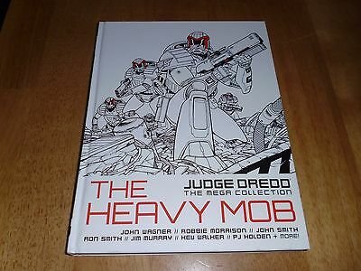 Judge Dredd The Mega Collection: The Heavy Mob  HB Graphic Novel