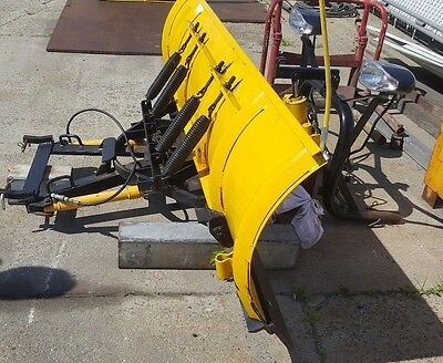 8' Myers Snow Plow w/ Lights A-Frame Cutting Edge Controls 8 Foot Removal Ready
