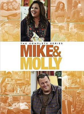 Mike and Molly: The Complete Series Box Set - Seasons 1-6 (DVD, 2016) New
