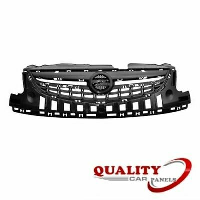 Upper Centre Front Bumper Grille Vauxhall Corsa D 2011-2014 New High Quality
