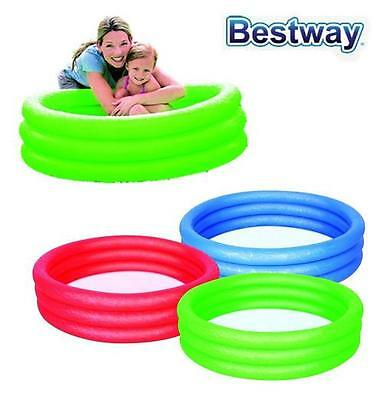Inflateable 3 Ring Pool Splash And Play Pool Above Ground Pool Kids Pool 51025