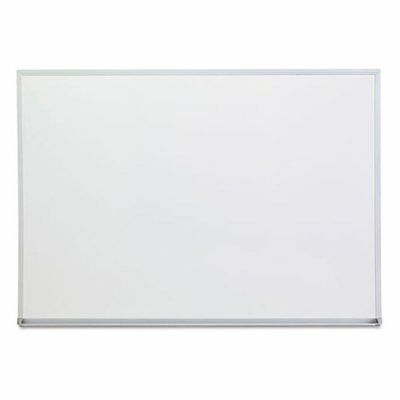 Universal 48 x 36 in. Melamine Dry Erase Board with Aluminum Frame