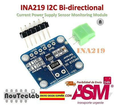 INA219 I2C Bi-directional Current Power Supply Sensor Monitoring Module