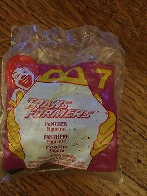 2 McDonald's Transformers Happy Meal Toys. 1995. NIB. Beetle & Panther.