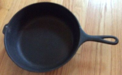 """Vintage Wagner Ware Sidney -O- Cast Iron 3"""" Deep Skillet - Chicken Fry Pan"""