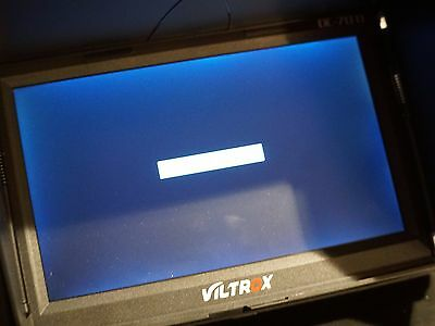 "VILTROX DC-70Ⅱ 7"" inch HD LCD Video Monitor Screen PLUS 2 BATTERIES/ CHARGER"