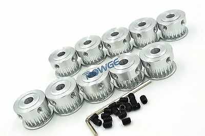 20 Teeth 3GT Timing Pulley Bore 5/6.35/8mm for Width 6mm Rubber GT3 Belt 20tooth