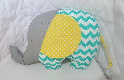 New Custom made Elephant shape Nursery Cushions - Made to Order