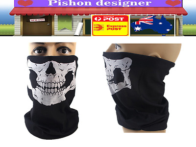 Bicycle Bike Motorcycle Face Cover Skull Skeleton Mask for Cycling Ski Hiking M3