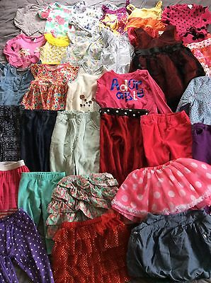Mix Lot of Toddler Girl Clothes 2T & 24 Months Outfits 32 Pieces