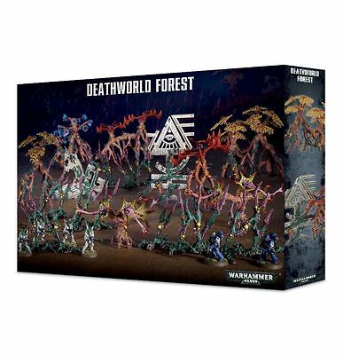 Deathworld Forest Games Workshop Warhammer 40k Dark Eldar Harlequin Terrain