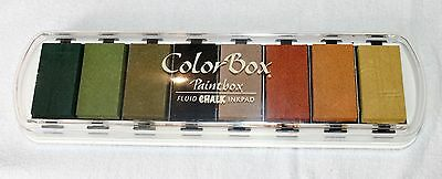 Color Box Fluid Chalk Inkpad. Autumn Pastels 71502 Australia.