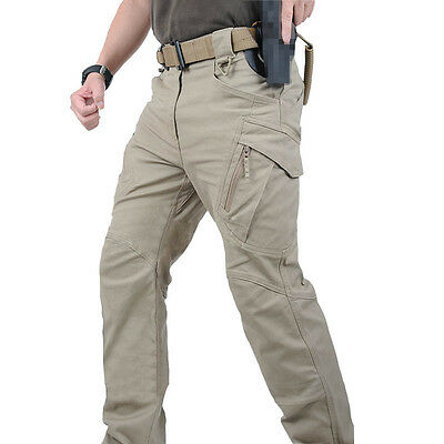 Urban Tactical Pants IX9 Men Military Combat Assault Outdoor Sport Hiking Pant