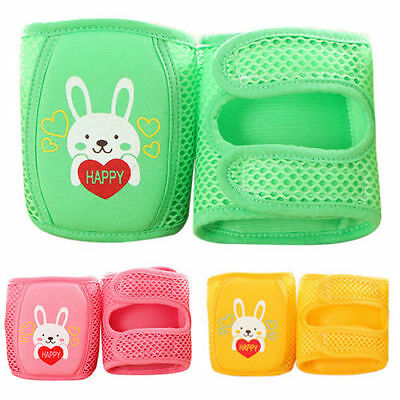 Baby Knee Pads Indoor Infant Crawling Leg Elbow Cushion Adjustable Protector